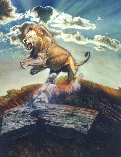 Aslan S Resurrection Paula Novak Narnia Prints